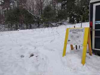 Zip Snowshoe Trail Open