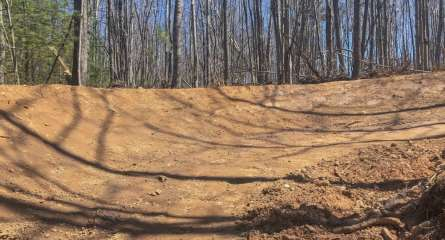 Backcountry Zip Trail Construction 3